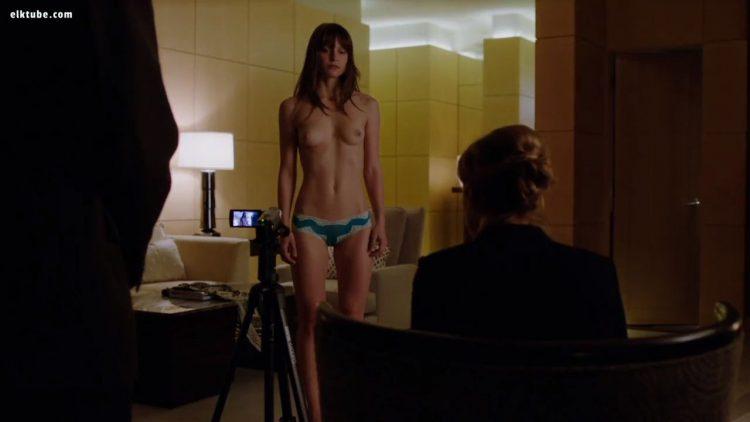 Homeland nude scene