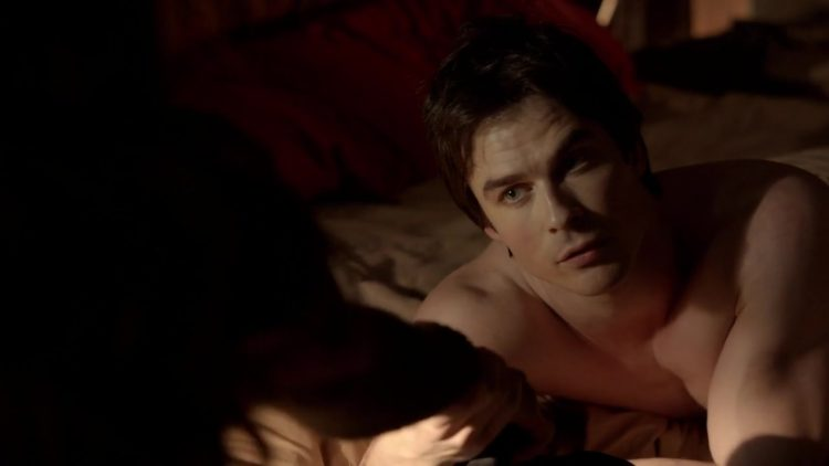 Sex scene – The Vampire Diaries s05e17 (2014)