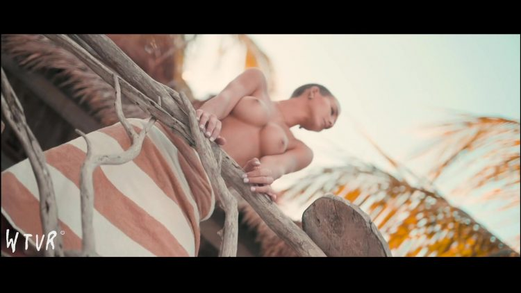 Nude photoshooting
