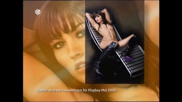 Playboy Shooting - Sat1 Das Magazin - Nude