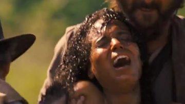Django Unchained - Nude scene