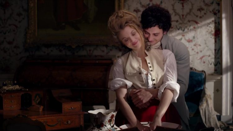 Sex scene - The Scandalous Lady W (2015)