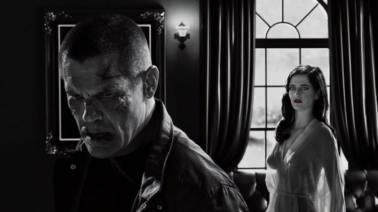 Nude scene - Sin City A Dame to Kill For (2014)