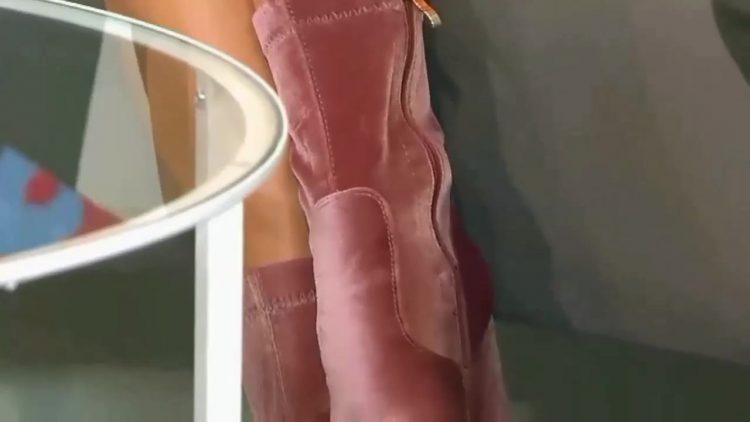 Black Mini Sexy Legs