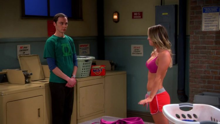 Stripping - The Big Bang Theory s07e11 2013